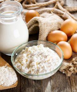Pieno gaminiai ir kiaušiniai